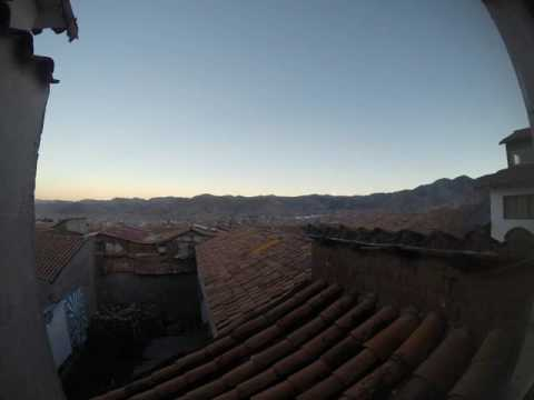 Peru -Cusco 2016 GoPro sunset timelapse