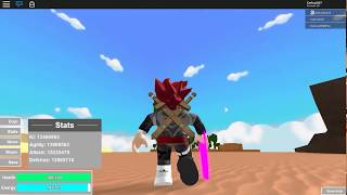 Roblox//Hack of Dragon Ball Rage well explained and other various things (A.J.).