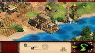 【実況】Age of Empires 2 ターリク イブン ズィヤード 分割統治 簡単