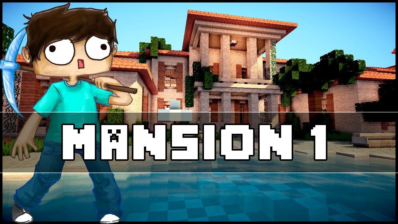Minecraft Mansion 1 YouTube