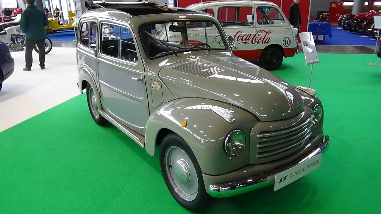 1954 Fiat 500 C Belvedere - Exterior and Interior - Retro Classics ...