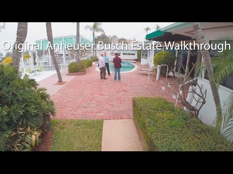 Original Anheuser Busch Estate Walkthrough