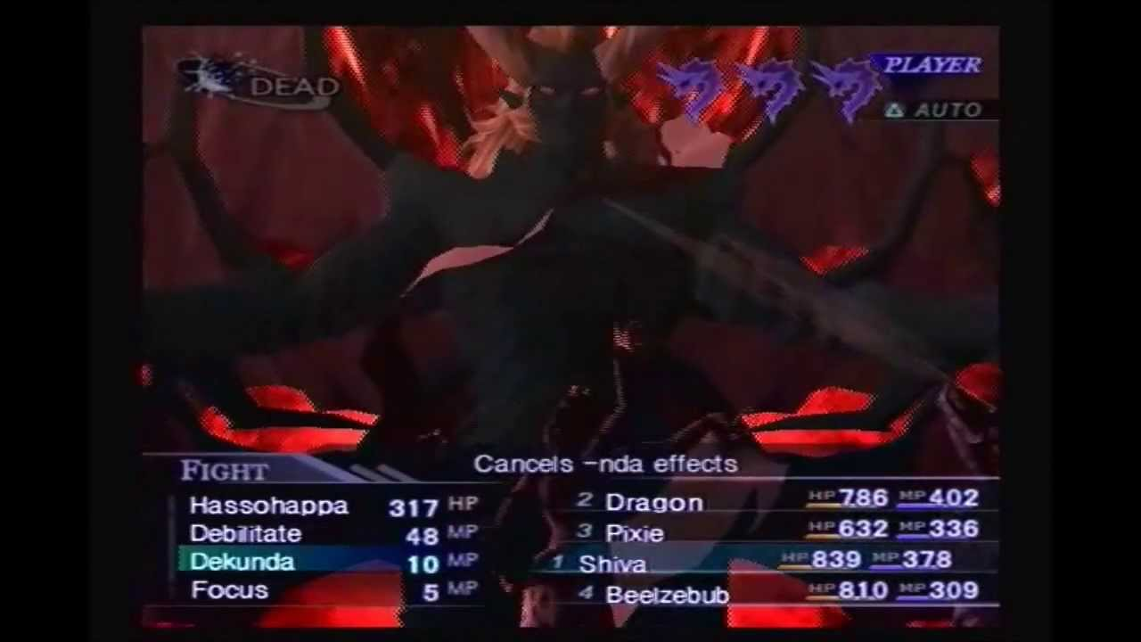 shin megami tensei nocturne demon ending a relationship