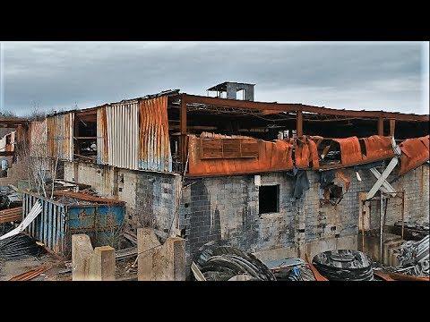 DJI SPARK FILM Abandoned Gold Silver Precious Metal Plant Pennsylvania
