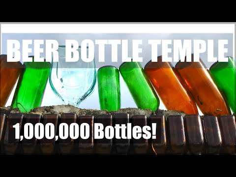 Beer Bottle Temple - Buddhist Temple with 1,000,000 Bottle Facade 🇹🇭 Thailand Living