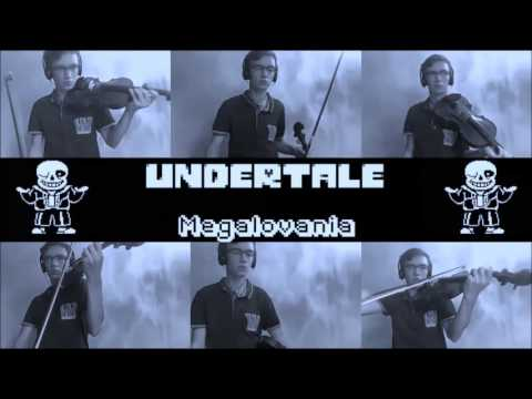 Undertale - Megalovania - Violin cover