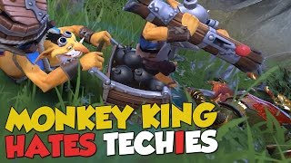 One of Cayinator's most viewed videos: MONKEY KING HATES TECHIES! - DotA 2 Funny Moments