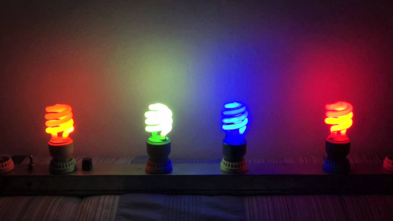 Feit Colored Cfls Youtube
