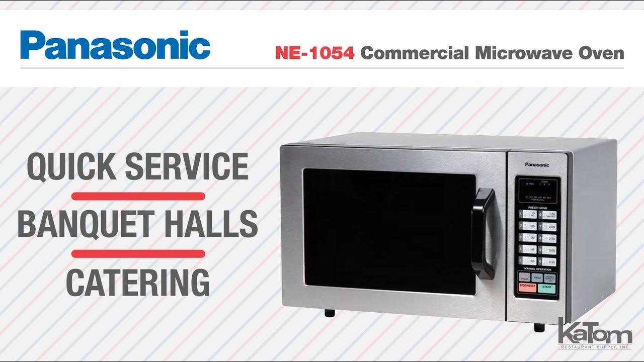 panasonic 1000w commercial microwave 182 ne1054f