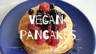 VEGAN GLUTENFREE PANCAKE RECIPE