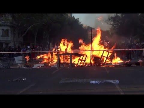 احتجاجات عنيفة في تشيلي والأمم المتحدة تطالب بمحاسبة الشرطة والجيش  - 19:00-2019 / 12 / 14