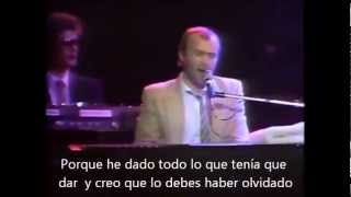 "Phil Collins "" I cannot believe it"