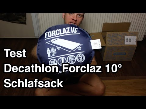 save off 7821b cfb18 Test Decathlon Forclaz 10° Schlafsack