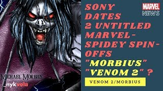 MARVEL NEWS: Sony's Marvel Movies for 2020- Morbius, Venom 2, Kraven The Hunter, Silver Sable