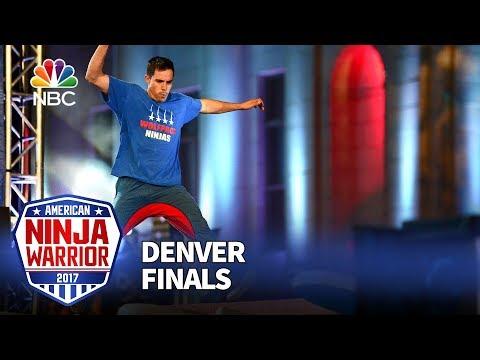 Ian Dory at the Denver City Finals - American Ninja Warrior 2017