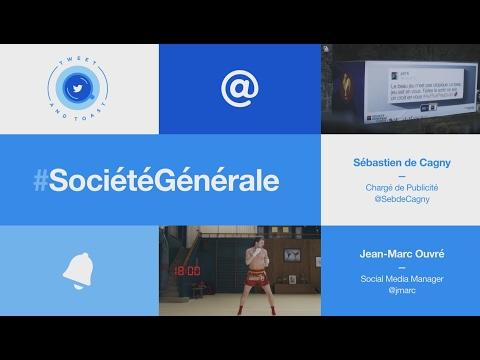 Société Générale - Sébastien De Cagny & Jean-Marc Ouvré - #TweetAndToast du 24 janvier 2017