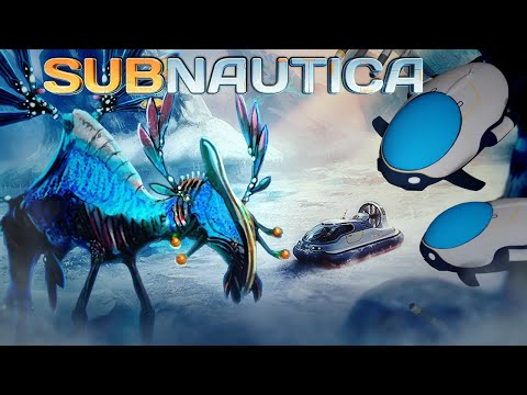 Subnautica - ARCTIC EXPANSION PLAYABLE!? Hovercraft, New Arctic Creatures, New Sub! - Gameplay