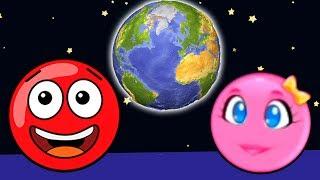 Новый КРАСНЫЙ ШАР #17  42 43 УРОВНИ   Мультик ИГРА New Red Ball 2