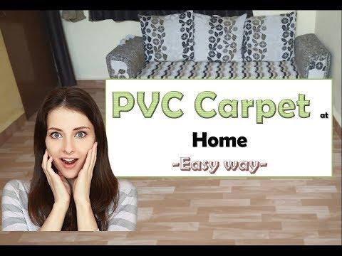 PVC carpet : Easy DIY : Home Decorate