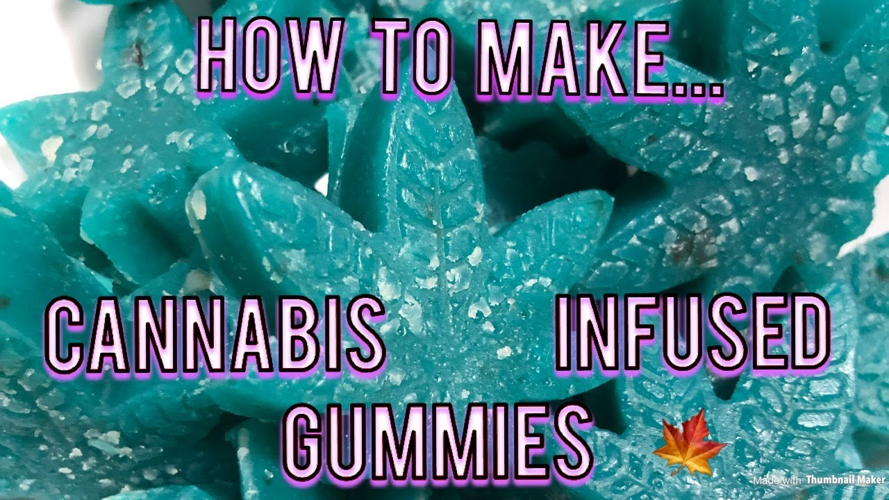 How To Make Cannabis Gummy Edibles (WITH THC COCONUT OIL) |SammyJCoCo