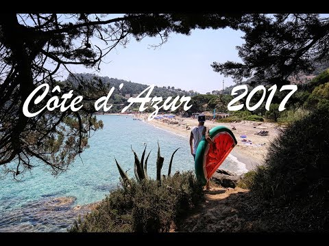 Exploring French Riviera -  La Cote D'azur 2017