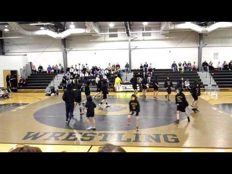 Manassas Park Middle School wrestling team - The Entrance