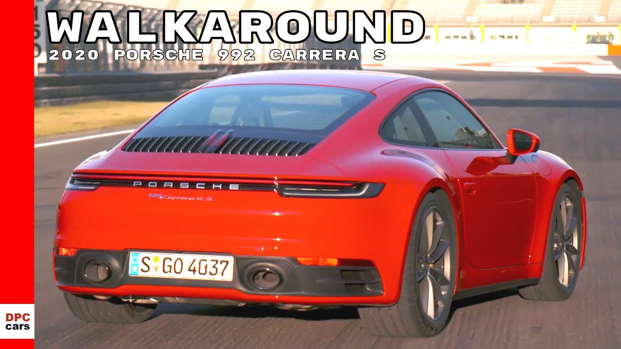 Guards Red 2020 Porsche 992 911 Carrera 4s Detailed Walkaround Youtube