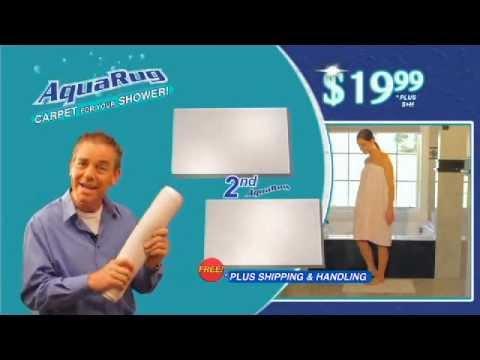 The Official Aqua Rug Bath Mat Commercial Youtube