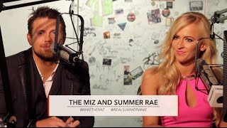 Summer Rae & The Miz - NXT, Internet Fans, Roman Reigns, Screw Ups, etc - Sam Roberts