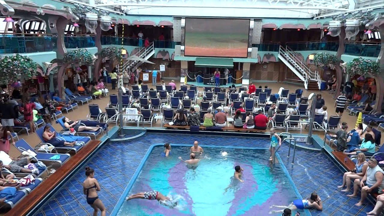 Carnival Splendor Lido Deck Splendido Pool