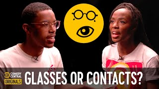 Glasses or Contacts? (ft. CalebCity) - Agree to Disagree