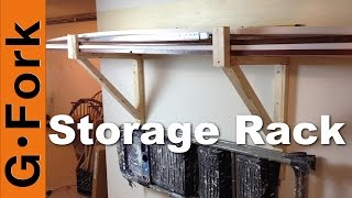 Diy Storage Racks For Garage Or Basement - Gardenfork.tv
