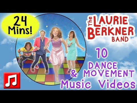 Dance and Movement Songs | 24 Minutes of Music Videos by Laurie Berkner | Best Preschool Music