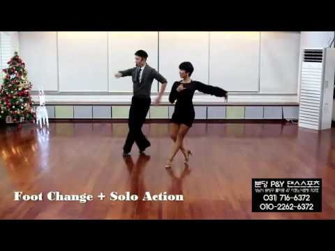 Cha cha cha - Foot Change + Solo Action