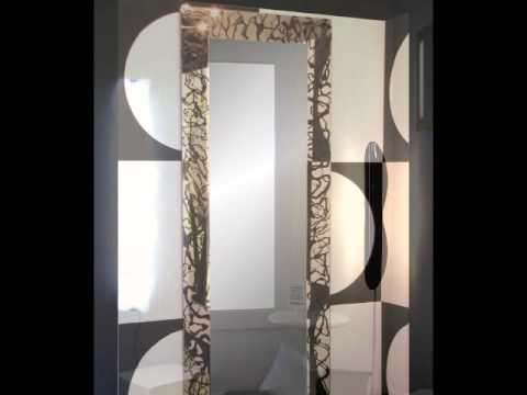 IDEA LUCE DECOR - SPECCHI DESIGN MODERNI - YouTube