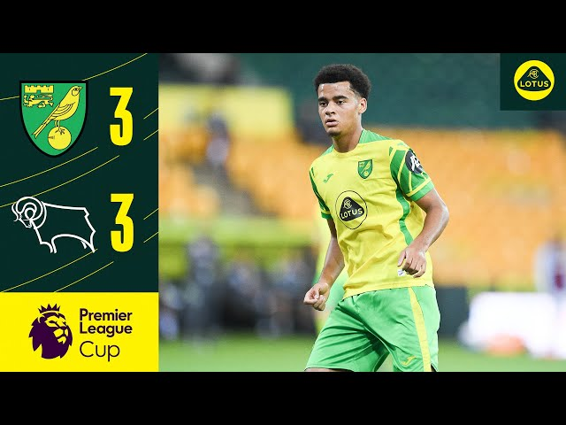 ACADEMY HIGHLIGHTS | Norwich City U23s 3-3 Derby County U23s | Premier League Cup