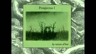 Anathema /  Apotheosis - raison d'être -- Prospectus I