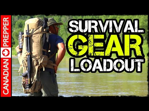 Survival and Camping Gear (Bugout Bag) Loadout: Vanquest Markhor 45
