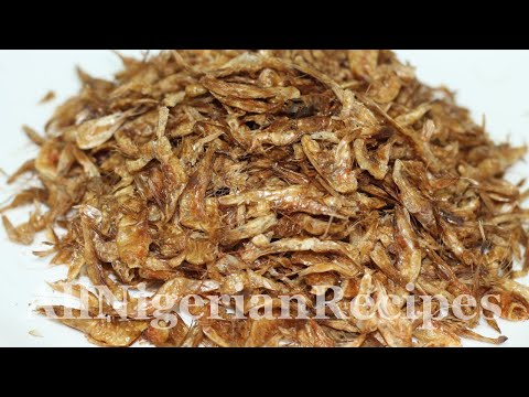How To Make Crayfish  | Flo Chinyere