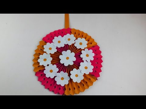 Origami VideoTutorials: DIY Wall Hanging | Home Decoration Ideas ...