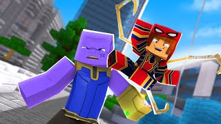 Minecraft : APARECEU UM SUPER VILÃO !! - Minecraft Super Heróis #3