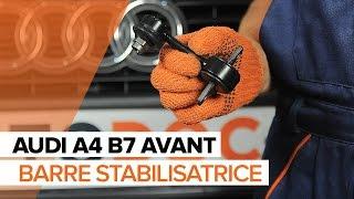 Remplacer Biellette stabilisatrice arrière et avant AUDI A4 Avant (8ED, B7) - instructions vidéo