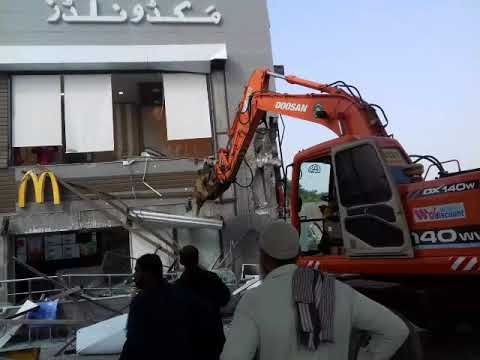 Capital development authority Operation against illegal buildings(8)