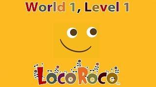 LocoRoco - World 1, Level 1 (Gameplay)
