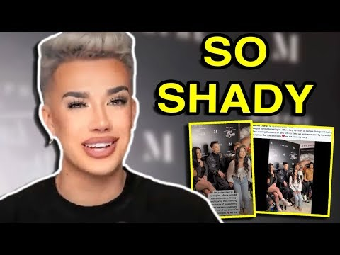 JAMES CHARLES CAN'T STOP THROWING SHADE (WEEKLY TEACAP) thumbnail