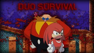 sonicexe the spirits of hell knuckles and eggman duo survival