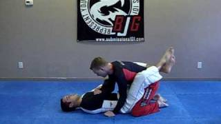 Knee Bar from an Armbar Counter (guard)