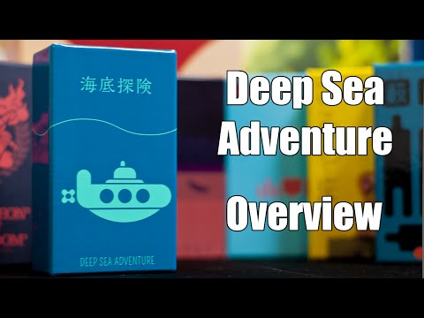 Deep Sea Adventure - Overview and How to Play