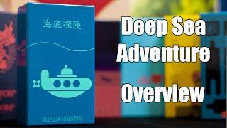 Deep Sea Adventure Game Nib