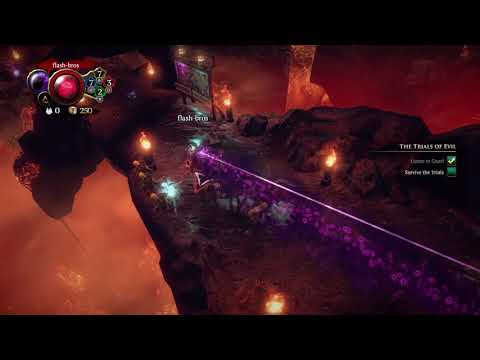Overlord: Fellowship of Evil walkthrough malady trails |